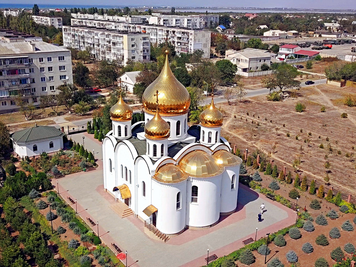 Храм в Новофёдоровке